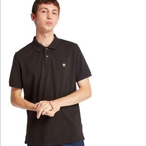 Timberland Miller River Pique Men Polo Shirt Black